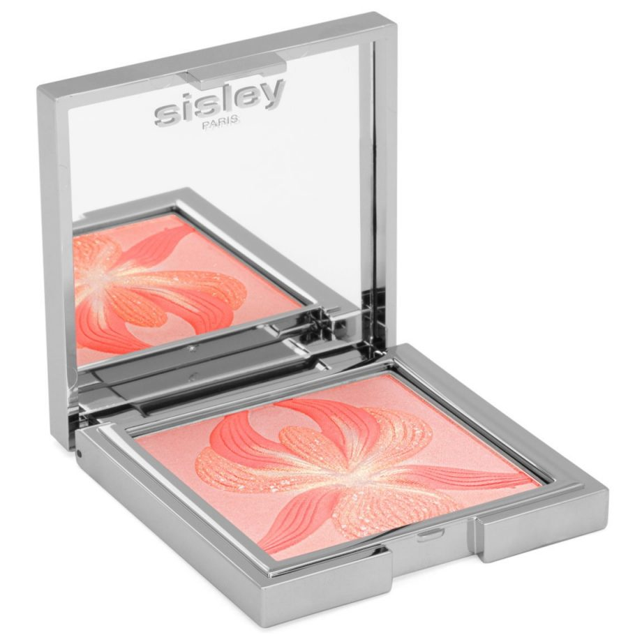 Sisley l'Orchidée highlighter blush Coral