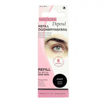 Depend Everyday Eye Ögonbrynsfärg Refill Svart